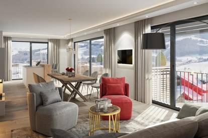 Luxus Obergeschoss Wohnung mit Blick auf Kirchberg TOP6