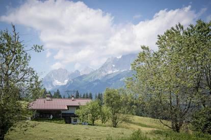 2 Grundstücke mit Kaiserblick in ruhiger Lage von St. Johann in Tirol