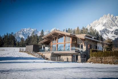 Stylishes Alpin-Chalet in ruhiger Aussichtslage von Going