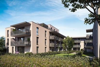 Moderne Penthousewohnung am Ortsrand von Kirchdorf