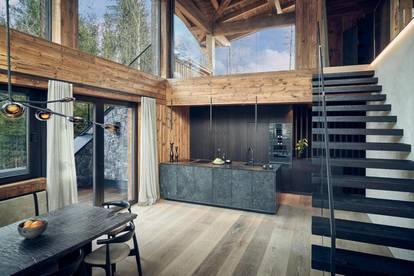 Exklusive Luxus-Lodge inmitten der Natur