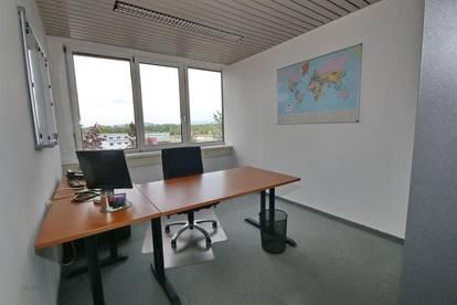 Büro neben der A1 - Optional Lagerhalle