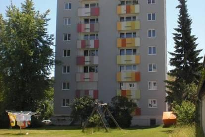 Sonnige Singlewohnung mit wunderbarem Ausblick auf der Ennsleite in Steyr