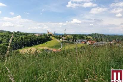 Traumhafte Aussichtslage ins Oststeirische Hügelland