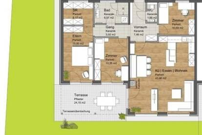 Projekt! Barrierefreie Einfamilienhäuser mit großzügiger Terrasse in St. Margarethen a. d. Raab