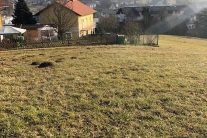 Traumgrundstück mit Traumaussicht im Thermenland - ca 1.450m2 mit Fernsicht in Bad Gleichenberg.