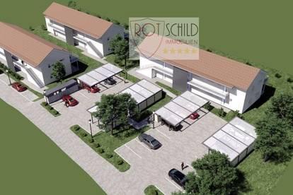 Neues Wohnprojekt in Bad Gleichenberg.  53m2 Wohnung mitGarten od. Terrasse. Wunderschöne Lage !