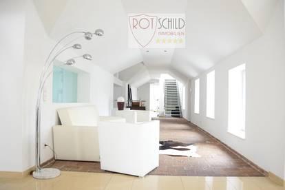 Exklusives leistbares Penthouse - über den Dächern von Wien! 280m2, barrierefrei, 3 Terrassen.