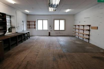 Großflächige Büro- Lager- Werkstätten- Atelier- Geschäftsfläche