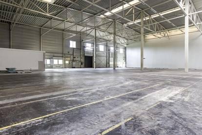 Barrierefrei zugängliche Halle/Werkstatt/Lager mit Büromöglichkeit