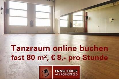 Tanzstudio & Proberaum - € 8 pro h & der Raum gehört dir! 11 Meter Spiegel!