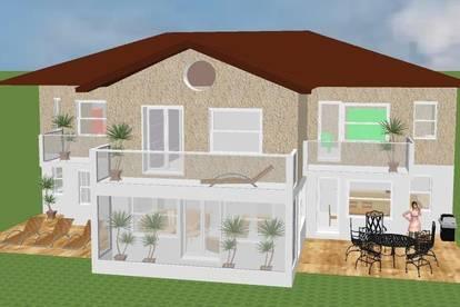 Familien-Villa mit Wintergarten ohne Grundstück