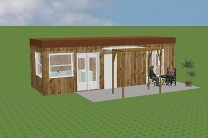 TINY-Home (MOBIL) PÄRCHEN- od. KLEINFAMILIEN-BUNGALOW mit 20m² Nutzfläche