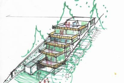 Großzügig angelegte provisionsfreie 130 m2 Neubau-Eigentumswohnung mit großer Dachterrasse in Hainfeld