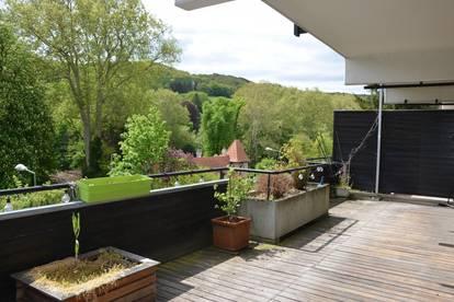 URBAN + TRENDIG. Exquisite Terrassenwohnung Nähe Stadtplatz Klosterneuburg