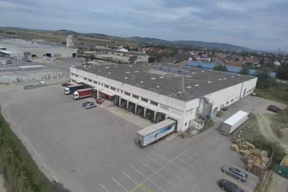 Betriebsobjekt: Lagerhalle mit Büroflächen