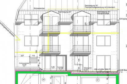 Wohnhaus mit Projektierung beim Uni-Campus