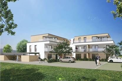 Neubau TOP 2: ca. 73m² Eigetumswohnung mit Garten und Terrasse