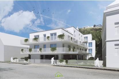 NEUBAU in zentraler Lage: Exklusive Dachgeschoßwohnung mit 75m²-Südwest-Terrasse