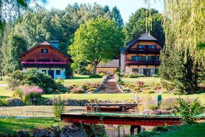 Ein Landsitz wie aus dem Bilderbuch
