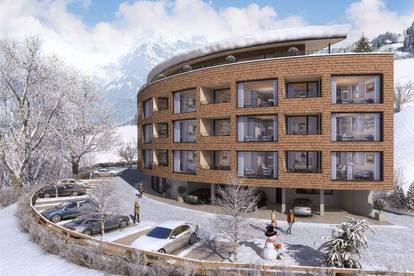 Appartement mit Dachterrasse  50m bis zur Piste