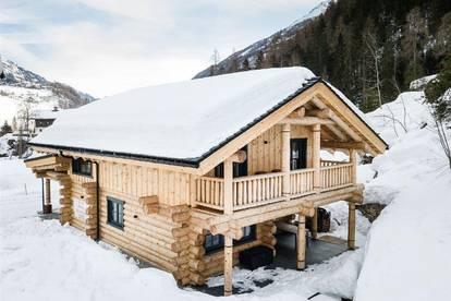 Gemütliches Holzblockhaus mit seltener Zweitwohnsitz-Widmung