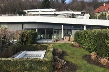Einzigartiges Architektenobjekt mit Terrasse und Dachgarten
