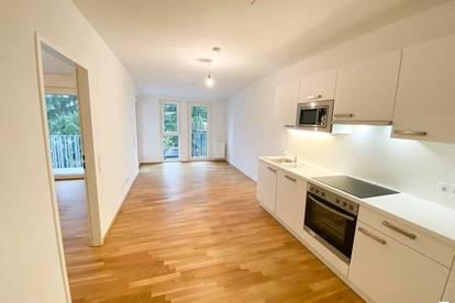 Grünblick - 2 Zimmer Neubau mit Loggia