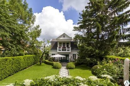 Elegante Villa mit traumhaftem Garten