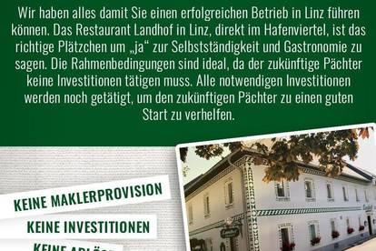 Restaurant Landhof in Linz sucht Pächter