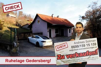 TOP LAGE am Gedersberg! Sanierunsbedürftiges Haus mit großem Grund!