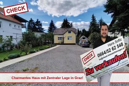 Charmantes Haus mit Zentraler Lage in Graz!