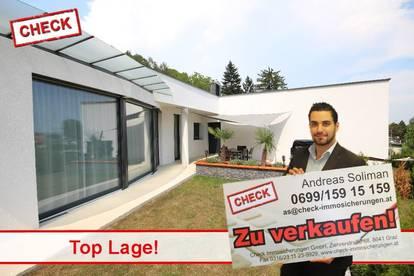Traumlage! Zweifamilienhaus im Stil eines Bungalows mit sehr niedrige Betriebskosten!