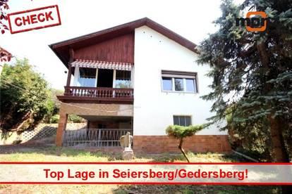 Top Lage! Einfamilienhaus mit großem Grund in Seiersberg/Ortsteil Gedersberg!