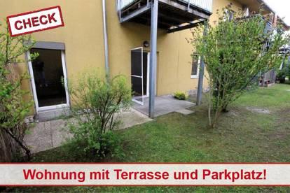 2 Zimmerwohnung mit Parkplatz in Ruhelage St. Peter!