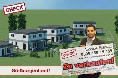 ERSTBEZUG! Neubau-Doppelhaushälfte in der steirisch-burgenländischen Thermenregion!