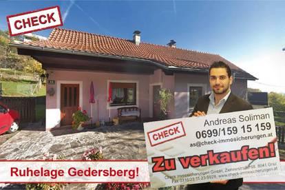 TOP LAGE! Sanierungsbedürftiges Haus am Gedersberg!