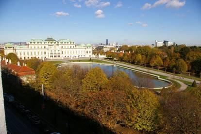 1040 Wien, Mit Blick auf das Belvedere!