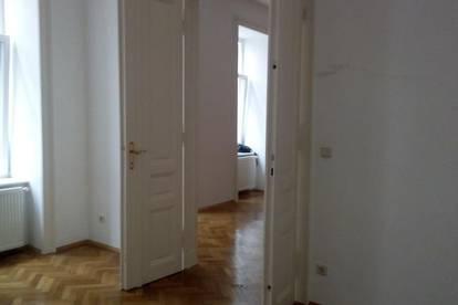 Schöne Altbauwohnung mit 3 Zimmern in Hoflage, 2 Zimmer getrennt begehbar, ruhig und hell