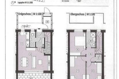 Reihenhaus mit Loggia und Eigengarten - ERFOLGREICH VERMITTELT