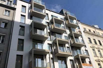 *NEUBAU-ERSTBEZUG* helle, ruhige 3-Zimmer Wohnung  mit großem Balkon in zentraler Lage des 4ten Bezirks!