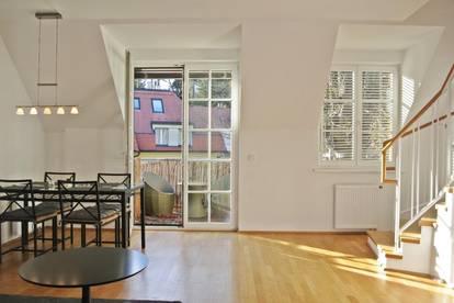 Willkommen zu Hause! Maisonette mit 2 Zimmern, Balkon und Terrasse - hochwertige Ausstattung