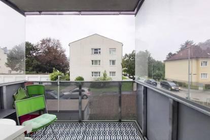 Loggiawohnung mit 2 Zimmern in ruhiger Seitengasse am Stadtrand von St. Pölten