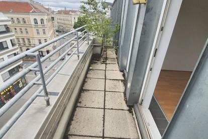 Helle 1 Zimmer Wohnung im Dachgeschoss mit Terrasse im 19. Bezirk
