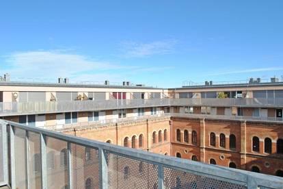 PROVISIONSFREI Wohnen im Arsenal - Helle Maisonettewohnung mit 3 Zimmern und Terrasse