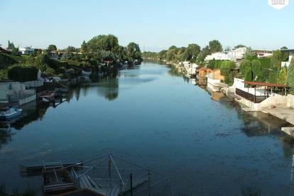 Bungalow am beliebten Donau-Oder-Kanal