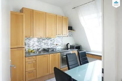 Kurzzeitmiete | Voll möbliertes Apartment mit einer kleinen Terrasseinkl. BK_Gas_Strom_Internet | max. Befristung 12 Monate