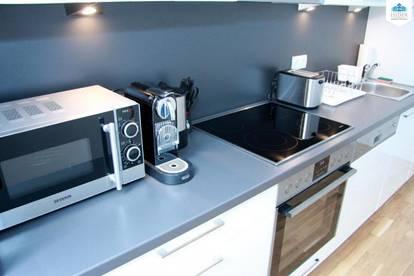 Kurzzeitmiete - Voll möbliertes Apartmentinkl. BK/Gas/Strom/Internet/max. Befristung 6 Monate