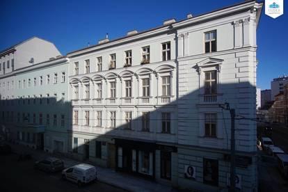 3-Zimmer-Wohnung inkl. Warmwasser und Heizung neben dem Augarten/Taborstraße