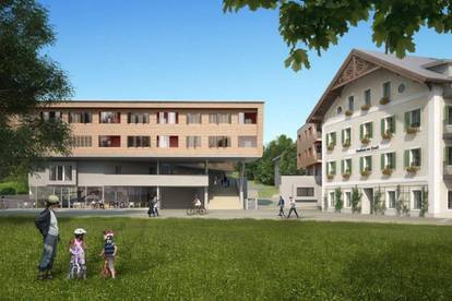 Bauprojekt Dreiklang in Gnigl * Haus KASKADE *